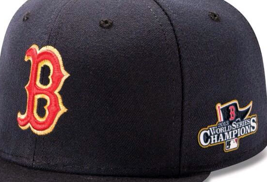 Red Sox 2013 World Champs Cap Detail