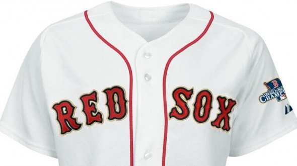 Red Sox 2013 World Champs Jersey
