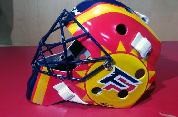 Roberto Luongo New Mask