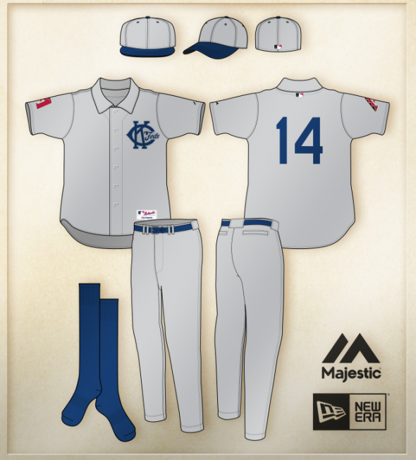 Arizona Diamondbacks 2014 Kansas City Federals Uniform graphic