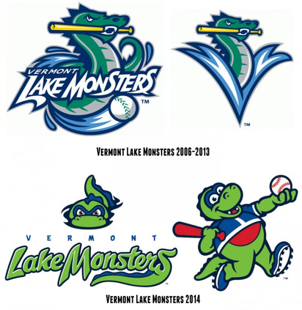 Vermont Lake Monsters Compare Logo