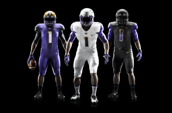 Washington Huskies Reveal New Football Uniforms