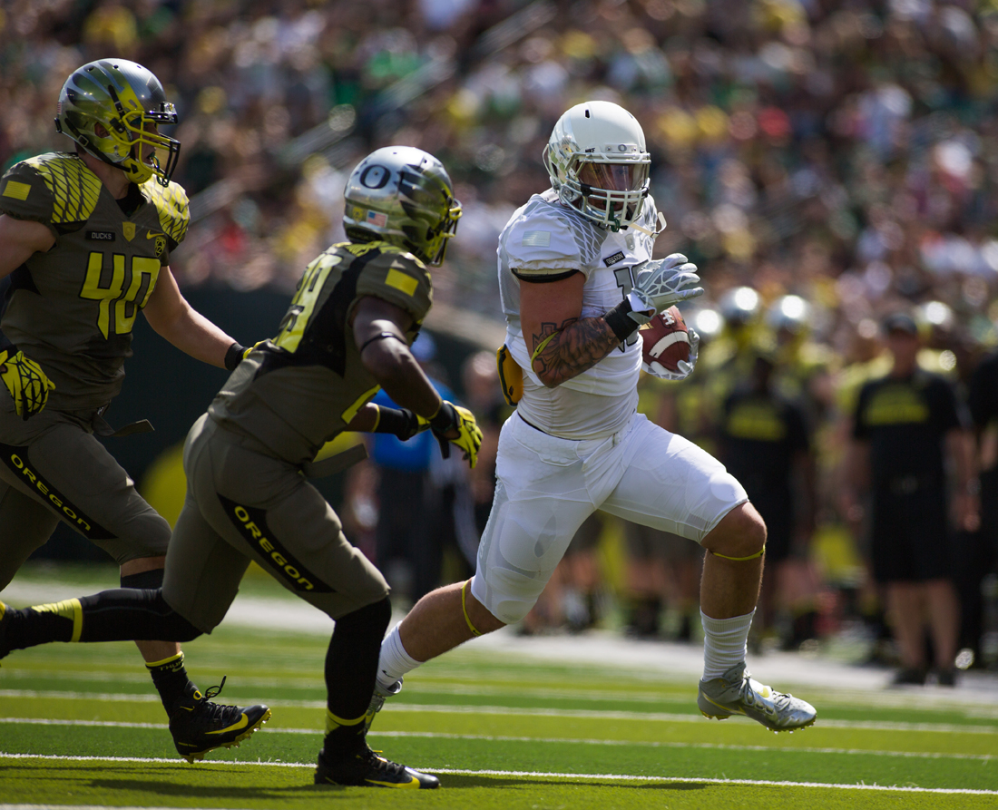 Oregon Ducks Reveal Uniforms For Spring Football Game Sportslogos Net News