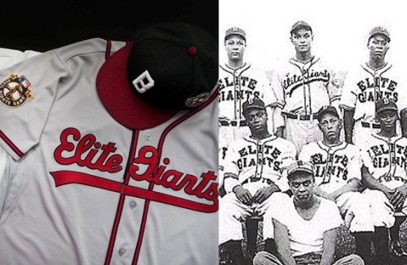Baltimore Elite Giants Orioles Throwback Jersey 2014