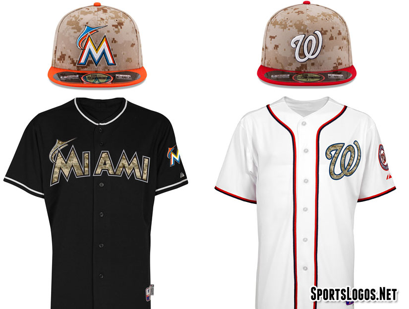 camouflage marlins nationals 2014 chris creamers