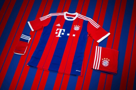 Bayern Munich Goes Back To Stripes With New Kit