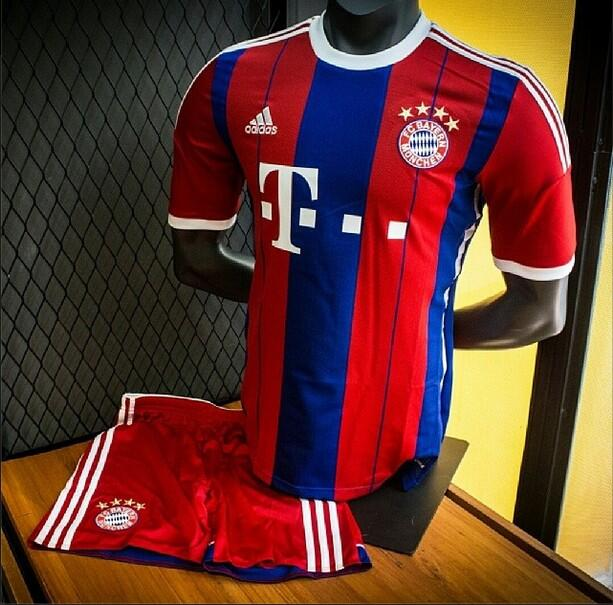 new arrival 81cec c39fe Bayern Munich Goes Back To Stripes With New Kit | Chris ...