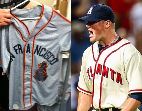Giants Braves Throwbacks 2014