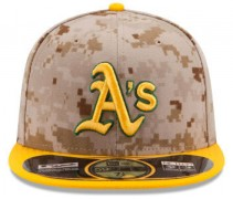 Oakland Athletics 2014 Camo Cap