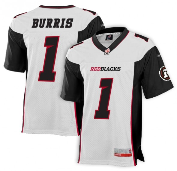 RedBlacks Road Uniform 2014