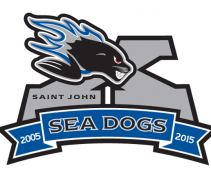 Saint John Sea Dogs 10th Anniversary Logo