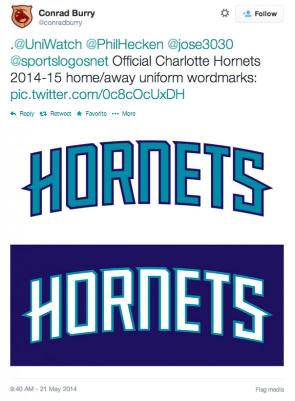 f899877bd4e A Peek at the New Charlotte Hornets Uniforms