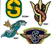 Seattle NHL Logo Concepts Creamer Boards