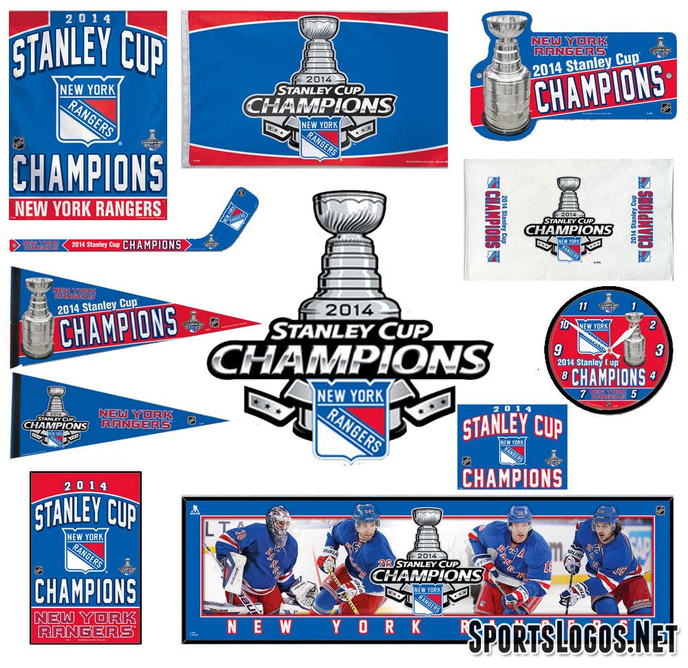New York Rangers Phantom Stanley Cup Champs