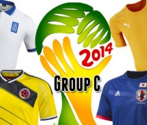 2014 World Cup Group C Kits