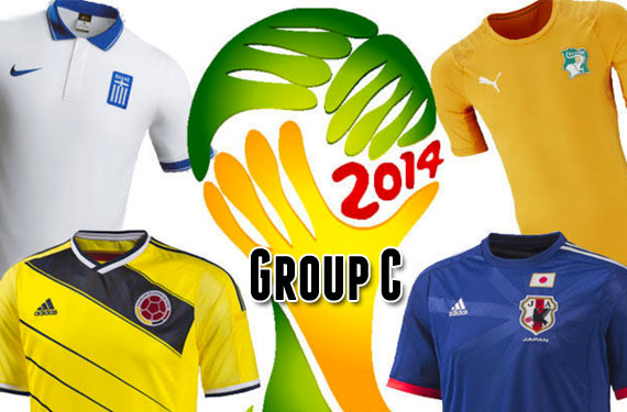 2014 World Cup Uniform Preview: Group C