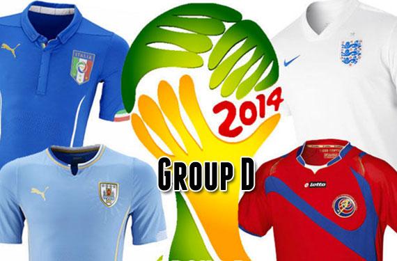2014 World Cup Uniform Preview: Group D