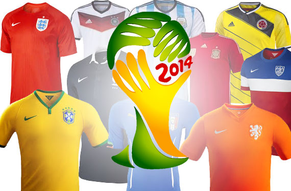 World Cup 2014: Preview and History of all 32 Team Uniforms