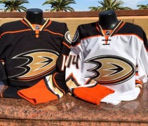 Anaheim Ducks New Uniforms 2014-2015