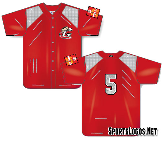 The special Michael Jackson uniform to be worn by the Railcats on June 21, 2014