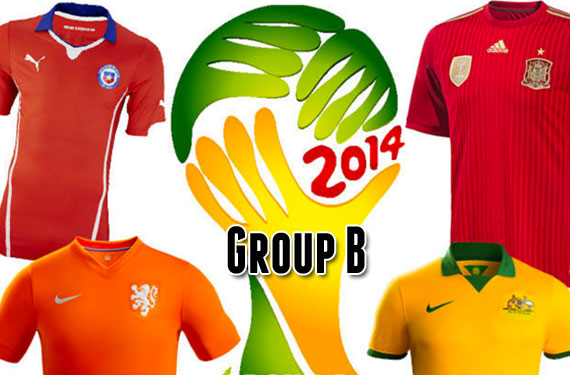 2014 World Cup Uniform Preview: Group B