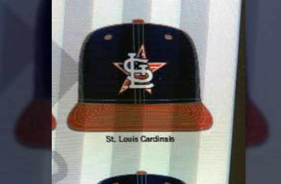 2014 July 4th MLB Cap Designs Spotted