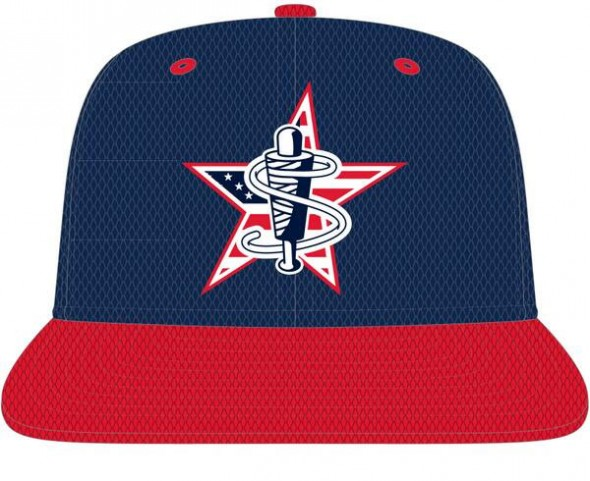 Lowell Spinners July 4 2014 Cap