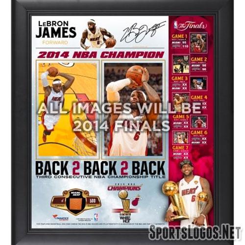 Miami Heat 2014 NBA Champs Lebron James