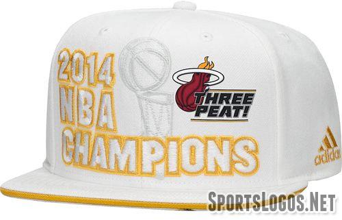 Miami Heat 2014 NBA Phantom Champs Cap