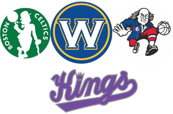 4 NBA Teams Get New Secondary Logos