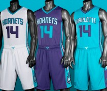 New Charlotte Hornets Uniforms