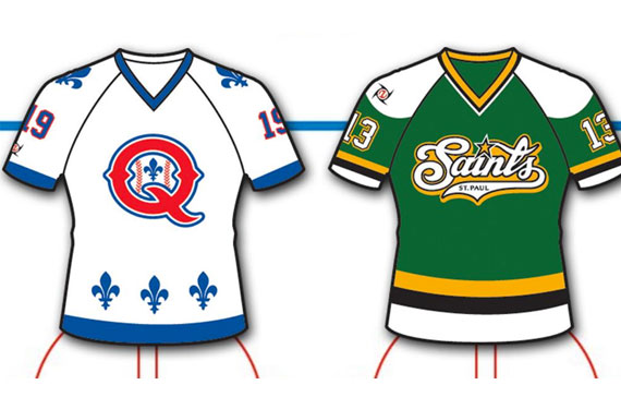 Nordiques North Stars Baseball Jerseys