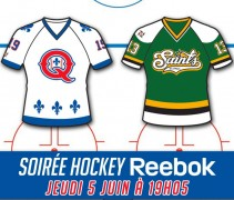 Quebec Capitales Hockey Night 2014