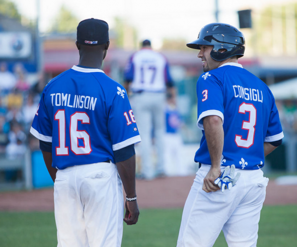The Capitales wore Nordiques uniforms on July 11, 2013