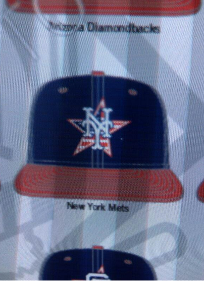New York Mets July 4 2014 Cap