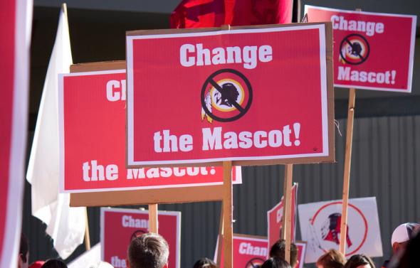 Washington Redskins Protestors