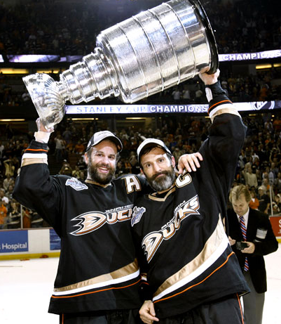 These Stanley Cup winning uniforms are now history