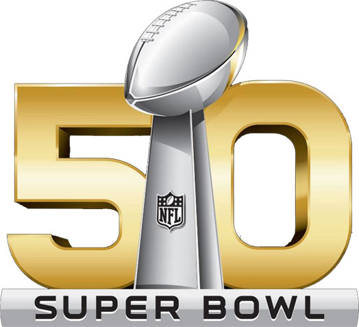 NFL Unveils Super Bowl 50 Logo | Chris Creamer's SportsLogos.Net News ...