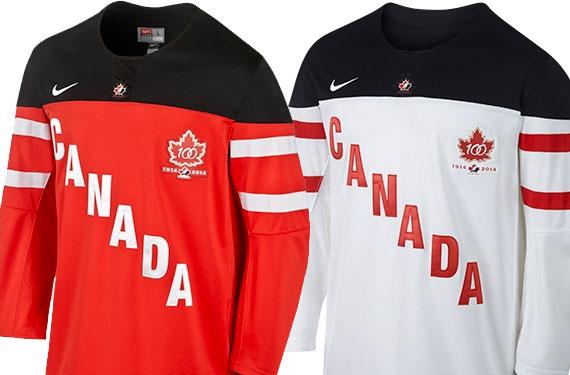 new team canada jersey