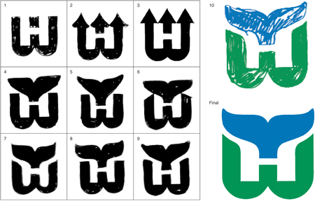 Whalers-sketches