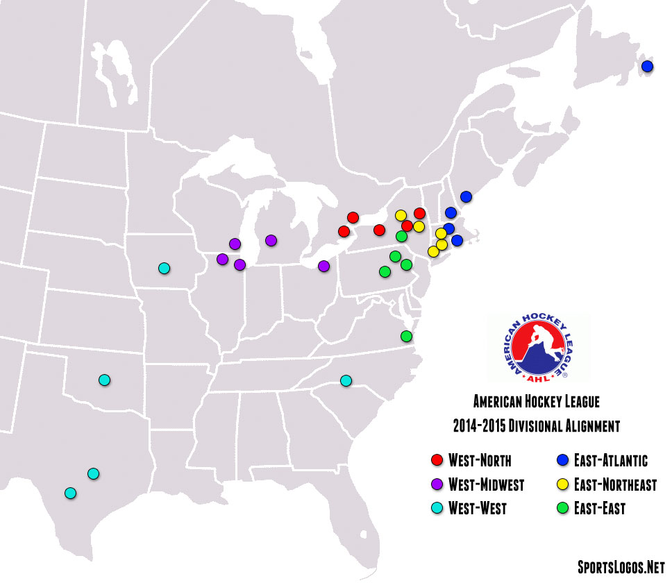 American Hockey League Re-Aligns for 2014-15