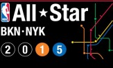2015 NBA All-Star Game Logo Brooklyn New York