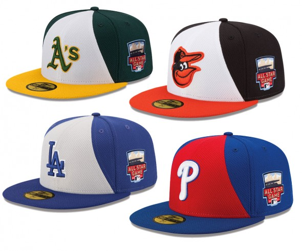 MLB ASG Caps 2014