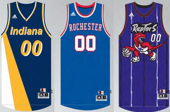 Kings, Pacers, And Raptors Will Wear Throwbacks This Season, Plus More NBA News