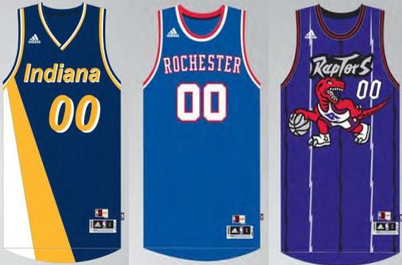 Kings, Pacers, And Raptors Will Wear Throwbacks This Season, Plus More NBA News