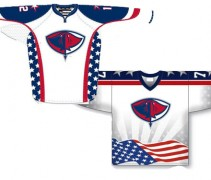 Sting Rays Military Jerseys 2014-15