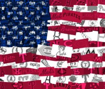 us flag mosaic logos