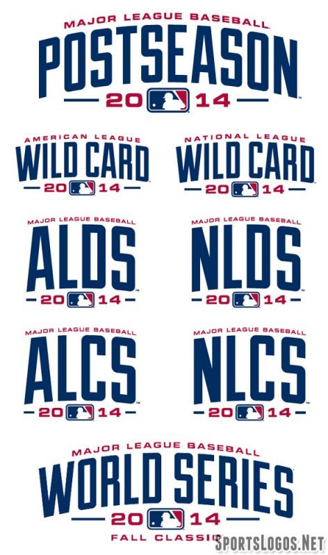 2014 MLB Playoff Logos