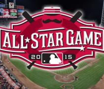 2015 MLB All-Star Game Logo Cincinnati