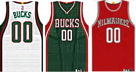 Showing placement of the NBA logo and gold championship tab on the back
